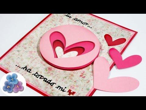 Tarjetas de amor para mi novio f ciles de hacer tarjetas - Manualidades para hacer tarjetas ...