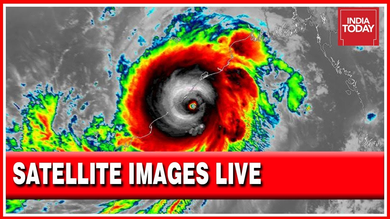 Here Are Live Satellite Images Of Cyclone Fani Suggests Major Impact In Odisha Youtube