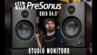 "Presonus Eris 4.5"" Studio Monitors"