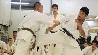 2012年3月4日に行われた寺家誠秀による昇段組手です.