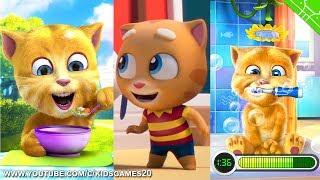 TALKING TOM GOLD RUN - Talking Ginger 2 vs Talking Ginger (Gameplay) screenshot 2