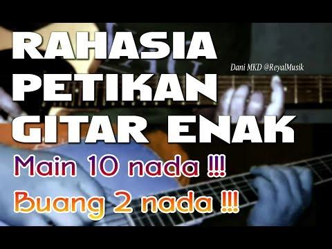 Belajar Petikan Gitar - Rahasia 10 Nada Enak, 2 Dibuang !