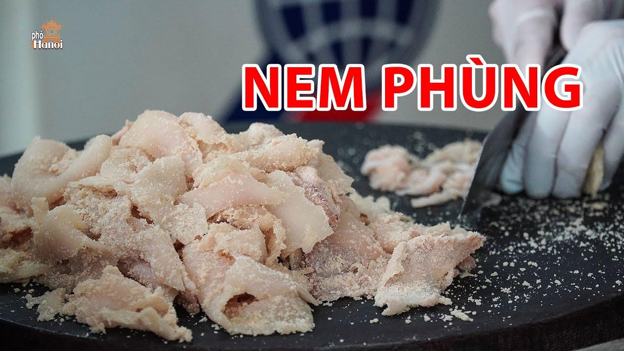 Nem Phùng Đan Phượng đặc sản Hà Nội được làm như thế nào #hnp