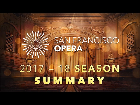 SF Opera 2017-18 Season Announce Summary with Matthew Shilvock, General Director