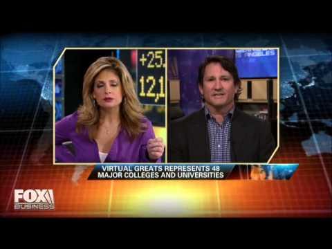 Virtual Greats Featured on Fox Business News: An Interview with Dan Jansen
