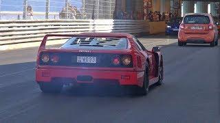 Ferrari F40 with LOUD Tubi Exhaust!