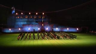 2010 Royal Edinburgh Military Tattoo in Australia 02a Massed Pipes and Drums Part 1
