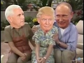 Donald Trump, Mike Pence And Vladimir Putin As The Golden Girls Is Brilliant.