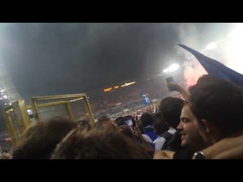 RC Strasbourg - USL Dunkerque : envahissement du terrain