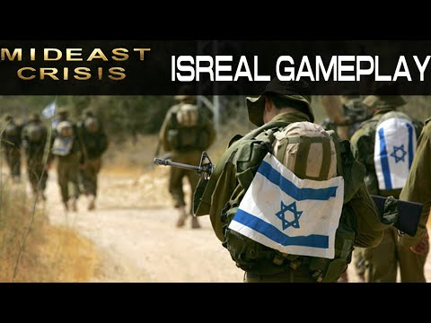 Mid East Crisis - Isreal Gameplay - Command and Conquer Generals: Zero Hour Mod