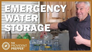 How to Store Waтer for Emergencies