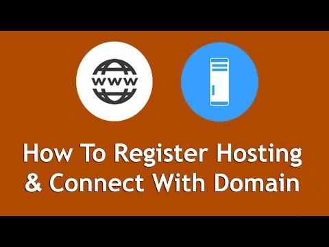 How To Register Hosting & Connect Your Domain To Web Host