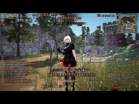 Black Desert Dark Knight PvP Red Battlefield