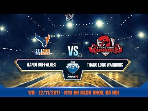 #Livestream || Bán Kết 2 - Game 2: Hanoi Buffaloes vs Thang Long Warriors 12/11| VBA 2017 by Jetstar
