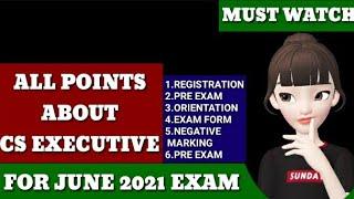 Cs Executive: All Information about Cs Executive | June 2021 | Dec 2021 | New Syllabus