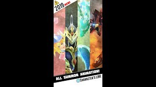 Yugioh Duel Links - 2019 All Summon Animation & Character's LINE!