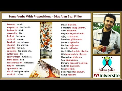 21. Verbs With Prepositions - Edat Alan Fiiller