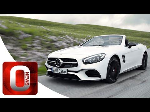 Mercedes SL 63 AMG & SL 500 2016 • OFFICIAL Promo Film [HD] (Option Auto News)