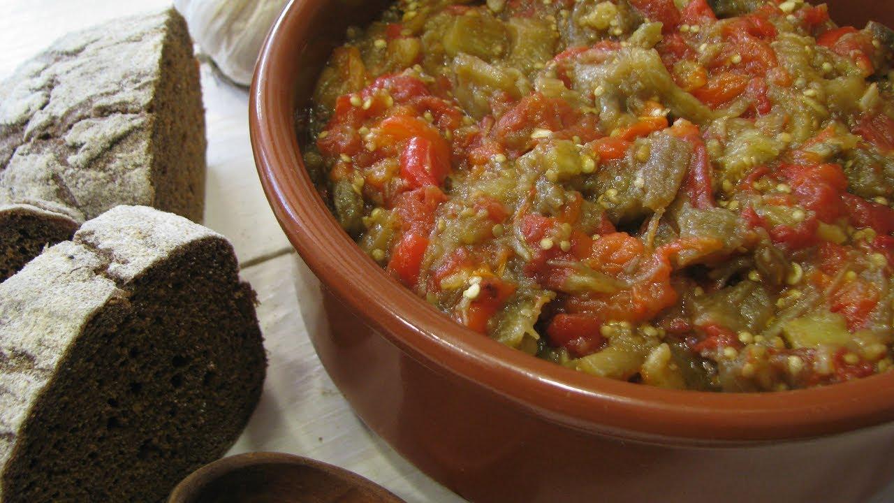 Рецепт вкусной икры из баклажан