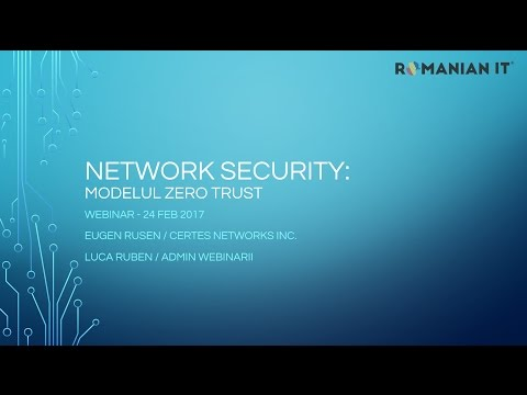 Webinar Romanian IT   Network Security