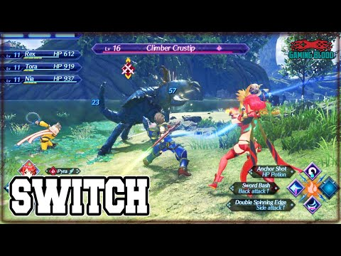 XENOBLADE CHRONICLES 2 Cool Gameplay + Info ➤ Upcoming Nintendo Switch