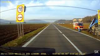 kultura na cestach / bad driving - 35/2018 [dashcam]