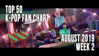 Top 50 K-Pop Songs Chart - August 2019 Week 2 Fan Chart