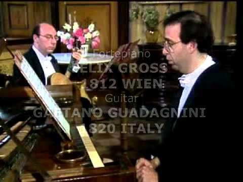F. Carulli 12 Overtures of Rossini for Guitar and Fortepiano, Palumbo Piano, Saracino Guitar