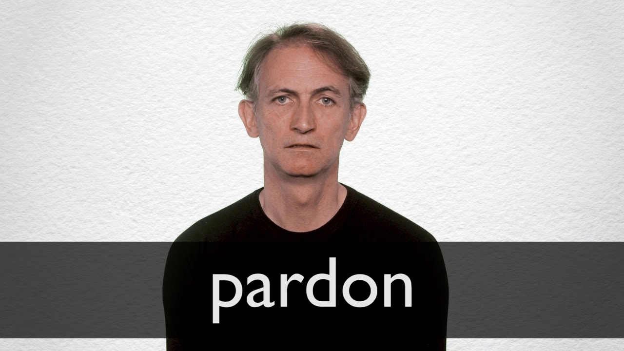 How to pronounce PARDON in British English