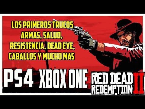 Red dead redemption 2 Los primeros trucos armas, salud, resistencia, dead eye... [PS4 y XBOX ONE]