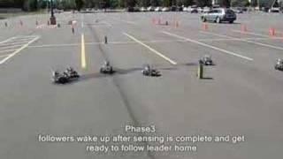 MOSES lab sensor swarming