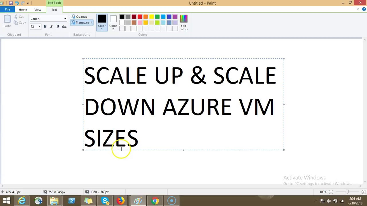 Azure-70-533-Video-24-SCALE UP & SCALE DOWN AZURE VM SIZES