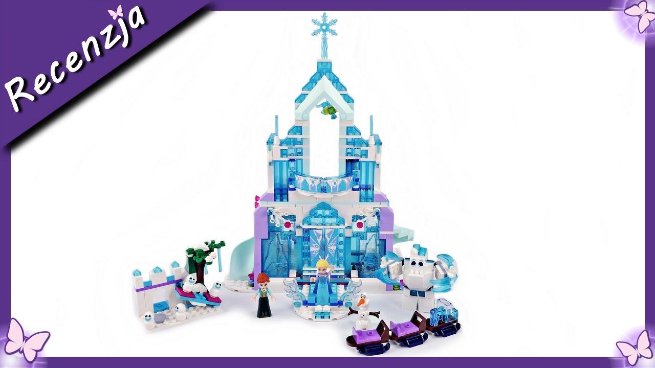 Magiczny Lodowy Pałac Elsy Budowanie Klocków Lego Disney Princess