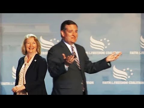 Ted Cruz Booted Off Stage Mid-Speech (VIDEO)