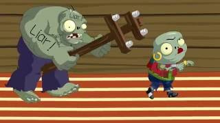 Never Wake Up (Plants VS Zombies game funny Animation)