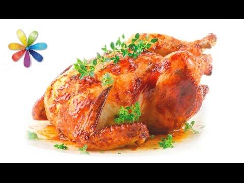 Фаршированная курица без