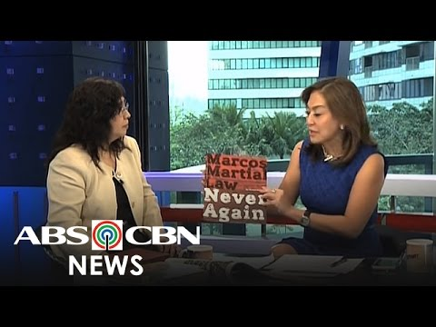 Headstart: Author bares details of 'Marcos Martial Law: Never Again'