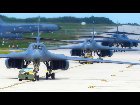 🔥 Тотальное превосходство / B-1B Lancer ВВС США