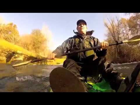 Kayak Fishing Stanislaus River