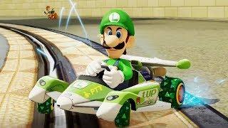 Mario Kart 8 Deluxe - Flower Cup 200cc (Luigi Gameplay)