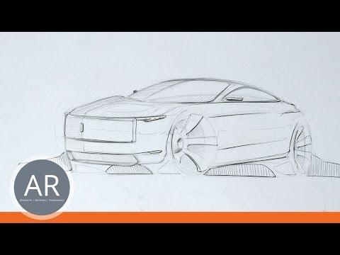 Autos zeichnen. Grundkurs Transportationdesign. Intro.