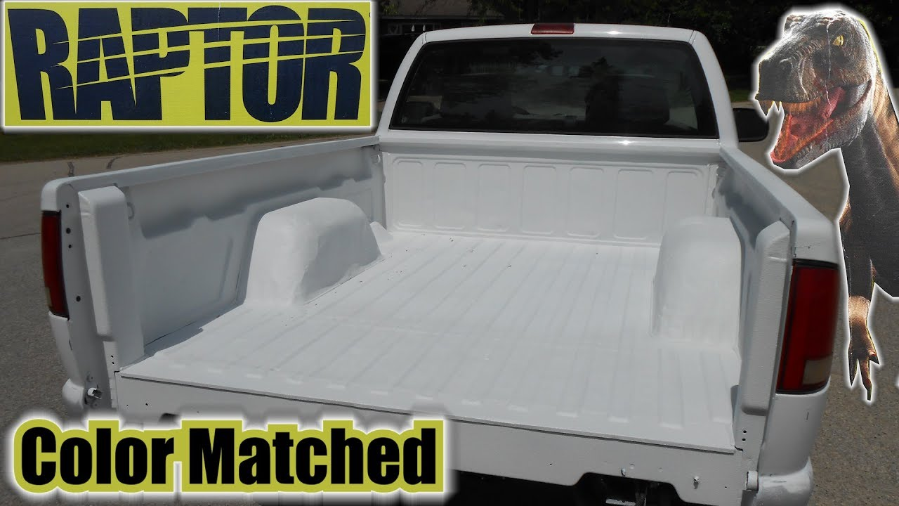 Project JUNK S10 `Color Matched RAPTOR BedLiner`