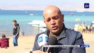 حملات نظافة وأعمال تجميلية في منطقة الشاطئ الأوسط - (15-2-2018)
