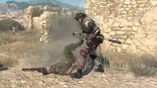 Metal Gear Solid 5 Phantom Pain All CQC Animation