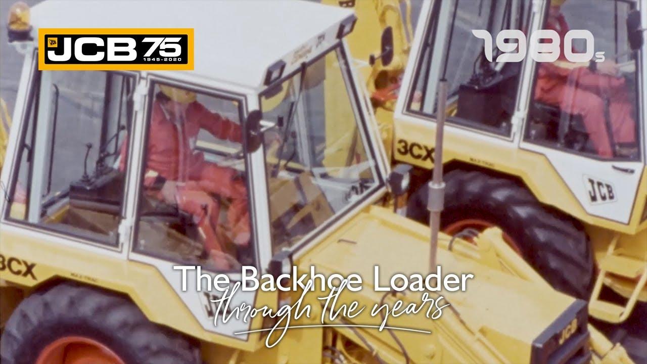 History of the JCB Backhoe Loader - 1980s
