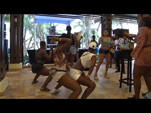 Crop over 2018 Touchdown Barbados Grand Kadooment party [miami carnival 2018 caribana carnival ps]