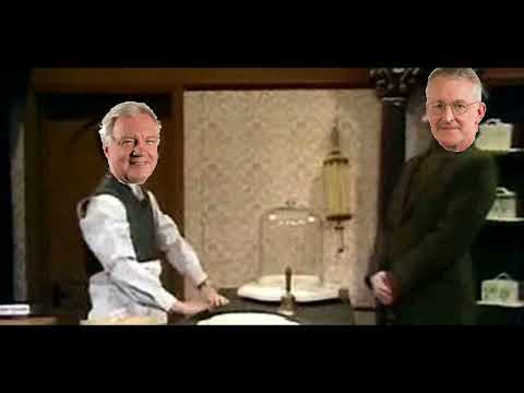 Hilary Benn visits David Davis's impact assessment shop