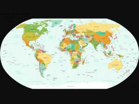 todos los continentes y