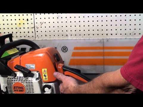 The chainsaw guy shop talk Stihl MS 390 Chainsaw 8 2