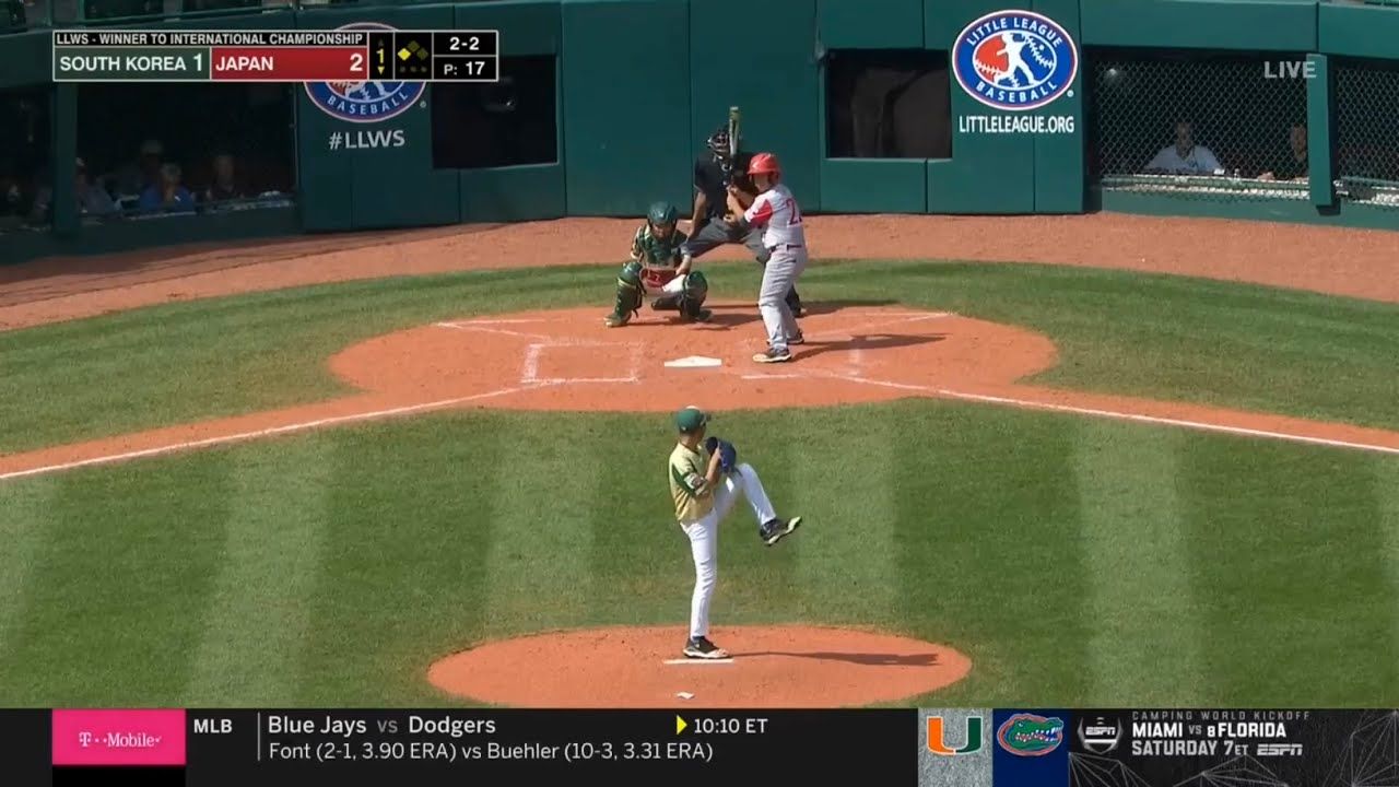 Japan loses to Curacao in Little League World Series international final